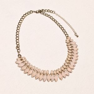 Jewelry - Bulky Pink & Gold Necklace